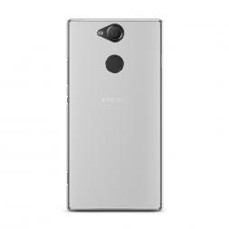 Силиконовый чехол без принта на Sony Xperia XA2 Plus