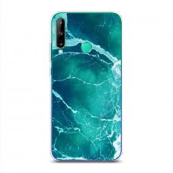 Силиконовый чехол Изумрудный океан на Huawei Y7p