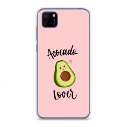 Силиконовый чехол Avocado lover на Huawei Y5p
