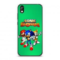 Силиконовый чехол Sonic Boom на Honor 8S Prime