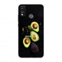 Силиконовый чехол Avocado fashion на Honor 9X Lite
