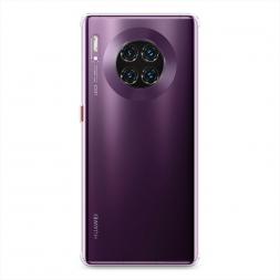 Силиконовый чехол без принта на Huawei Mate 30 Pro