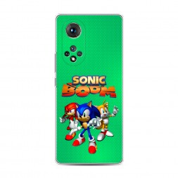 Силиконовый чехол Sonic Boom на Honor 50 Pro