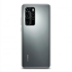 Силиконовый чехол без принта на Huawei P40 Pro