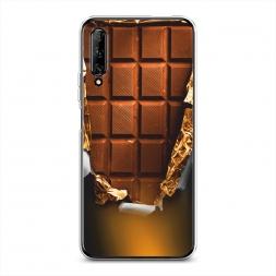 Силиконовый чехол Шоколадка на Huawei Y9s