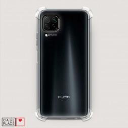 Противоударный силиконовый чехол Прозрачный на Huawei P40 Lite