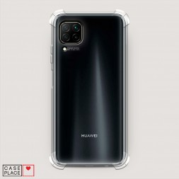 Противоударный силиконовый чехол Прозрачный на Huawei Nova 7i