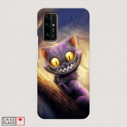 Пластиковый чехол Cheshire Cat на Huawei Honor 30
