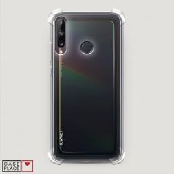 Противоударный силиконовый чехол Прозрачный на Huawei P40 lite E