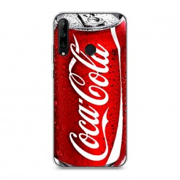 Силиконовый чехол Кока Кола на Honor 9C
