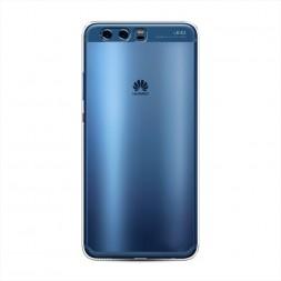 Силиконовый чехол без принта на Huawei P10 Plus