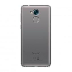 Силиконовый чехол без принта на Huawei Honor 6C