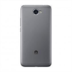 Силиконовый чехол без принта на Huawei Y7