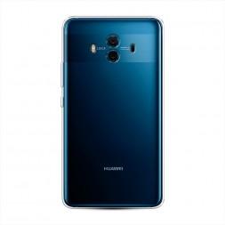 Силиконовый чехол без принта на Huawei Mate 10