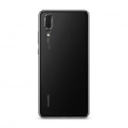 Силиконовый чехол без принта на Huawei P20