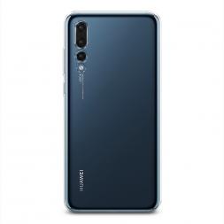 Силиконовый чехол без принта на Huawei P20 Pro