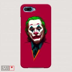 Пластиковый чехол Хоакин Феникс в роли Джокера на Huawei Honor 10