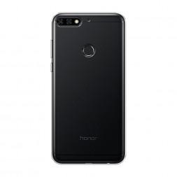 Силиконовый чехол без принта на Honor 7C Pro