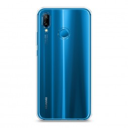 Силиконовый чехол без принта на Huawei Nova 3E