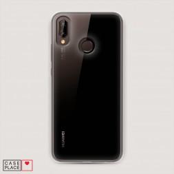 Пластиковый чехол без принта на Huawei Nova 3
