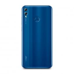 Силиконовый чехол без принта на Huawei Honor 8X Max