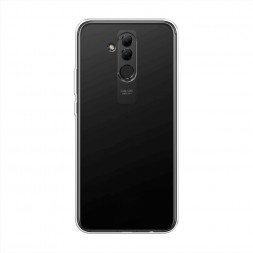 Силиконовый чехол без принта на Huawei Mate 20 Lite