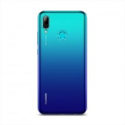 Силиконовый чехол без принта на Huawei P Smart 2019