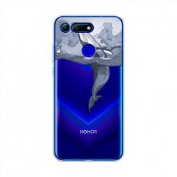 Силиконовый чехол Два измерения на Huawei Honor V20 (View 20)