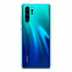 Силиконовый чехол без принта на Huawei P30 Pro