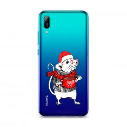 Силиконовый чехол Символ 2020 года на Huawei Y6 Pro (Prime) 2019