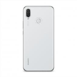 Силиконовый чехол без принта на Huawei P Smart Plus