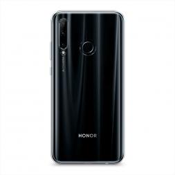 Силиконовый чехол без принта на Huawei Honor 20 Lite 2019