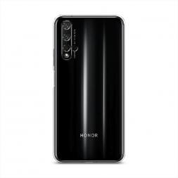 Силиконовый чехол без принта на Huawei Honor 20