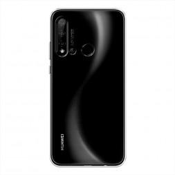 Силиконовый чехол без принта на Huawei Nova 5i