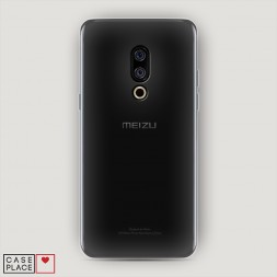 Силиконовый чехол без принта на Meizu 15