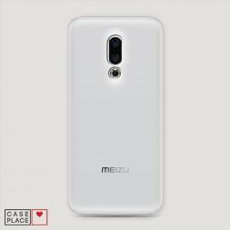 Силиконовый чехол без принта на Meizu 16