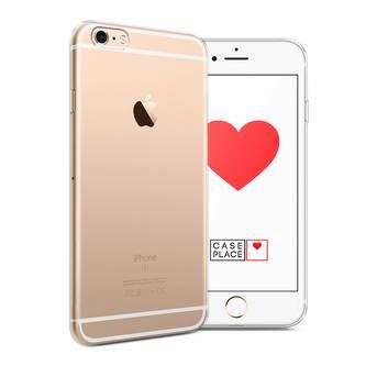 Силиконовый чехол без принта на iPhone 6 Plus/6S Plus
