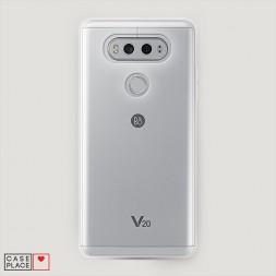 Силиконовый чехол без принта на LG V20