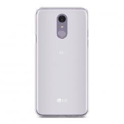 Силиконовый чехол без принта на LG Q7 (Plus, Alpha)