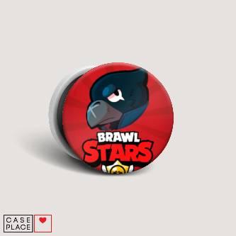 Попсокет с картинкой Crow Brawl Stars