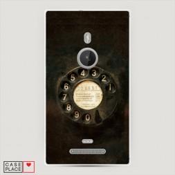 Силиконовый чехол Старинный телефон на Lumia 925