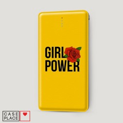 Внешний аккумулятор 10000 mAh GIRL POWER
