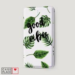 Внешний аккумулятор 10000 mAh Good vibes пальмы