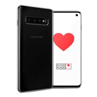 Силиконовый чехол без принта на Samsung Galaxy S10