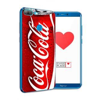 Силиконовый чехол Кока Кола на Honor 9 Lite