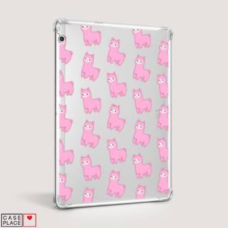 Чехол для Huawei MediaPad T3 10 Розовые ламы