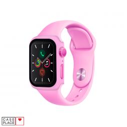 Ремешок 40 мм и чехол для Apple Watch розовый