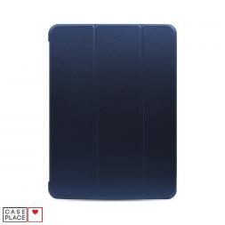 Чехол-книжка для планшета iPad Air 4 (2020) синий с силиконовой основой