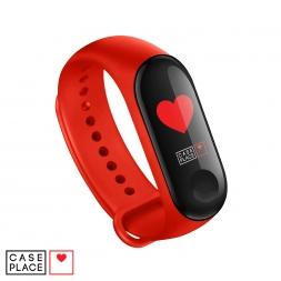 Ремешок для часов Xiaomi Mi Band 3/Mi Band 4 красный