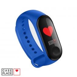 Ремешок для часов Xiaomi Mi Band 3/Mi Band 4 синий